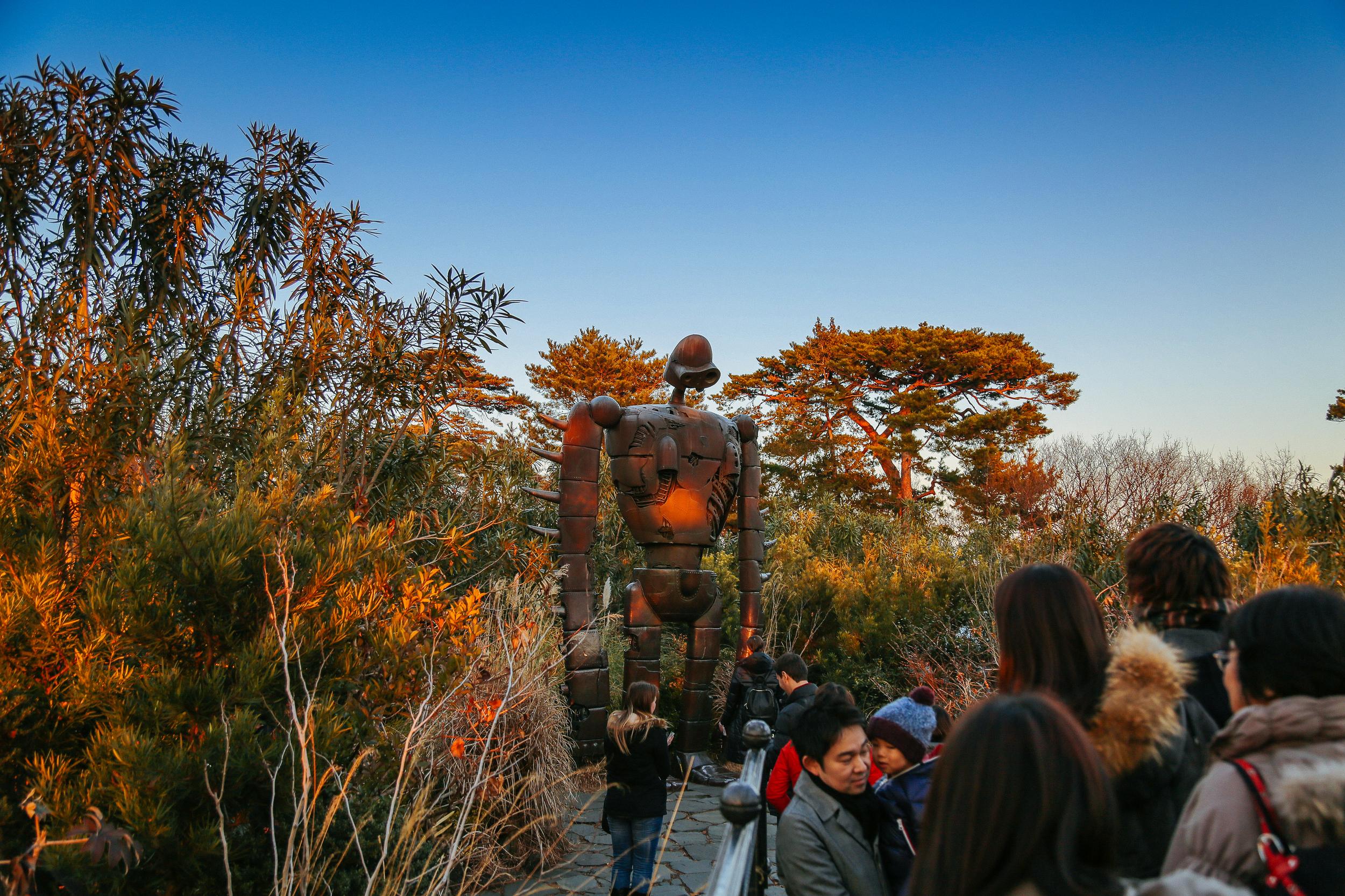 Studio Ghibli Museum Roof Garden Robot -Eric Bravo Photography