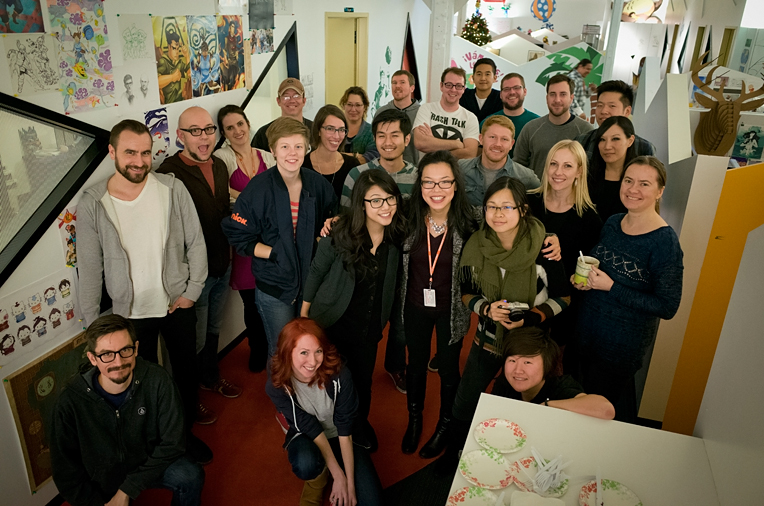 Nickelodeon's Legend of Korra Crew