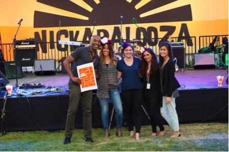 Nickapalooza at Nickelodeon's Studio