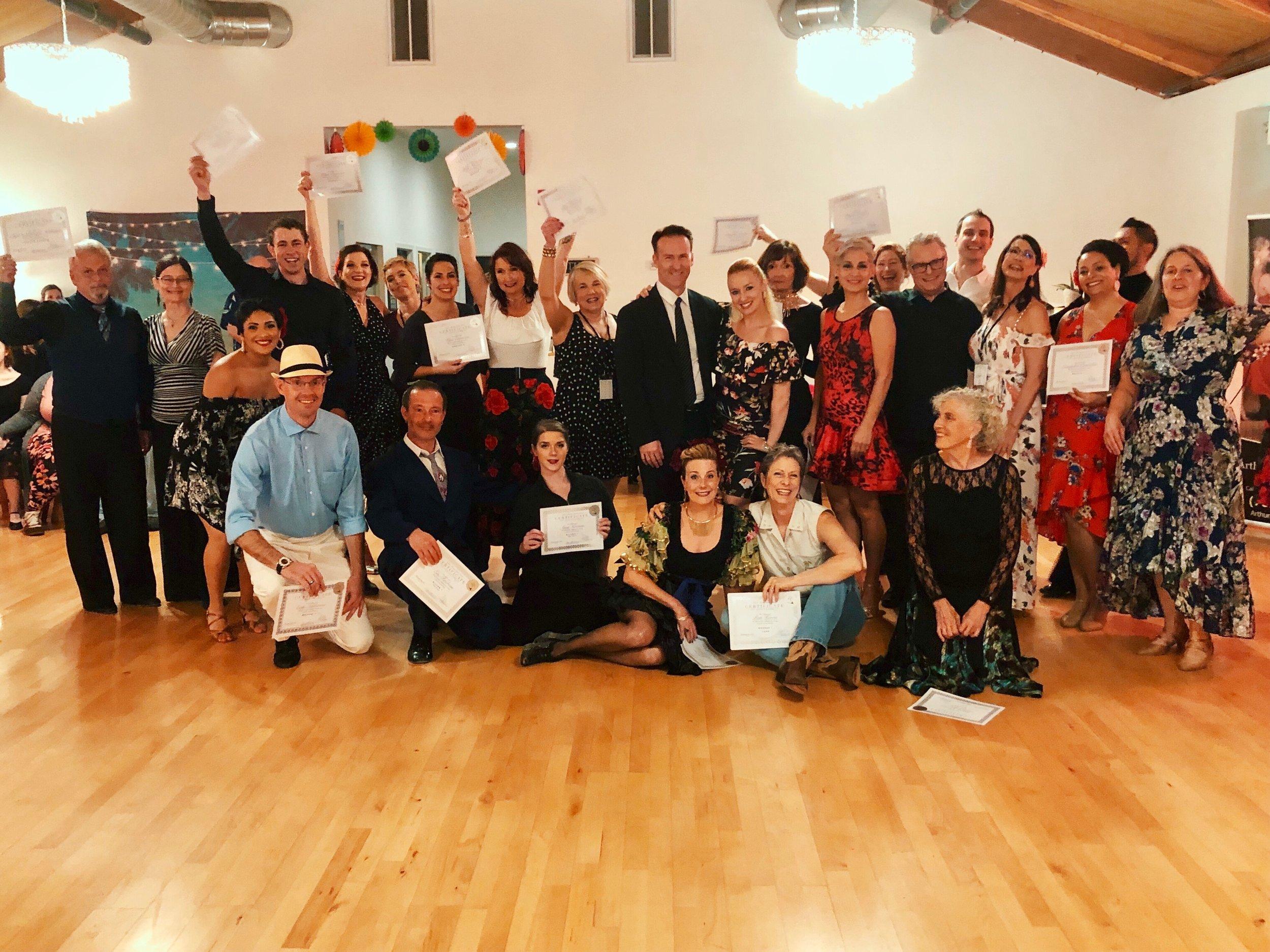 Santa Rosa Graduates & Teachers at Havana Nights Medal Ball