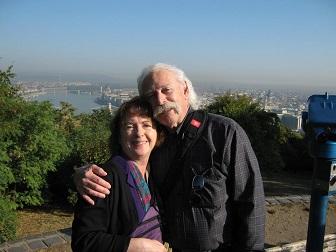 Maggie and Glen in Croatia