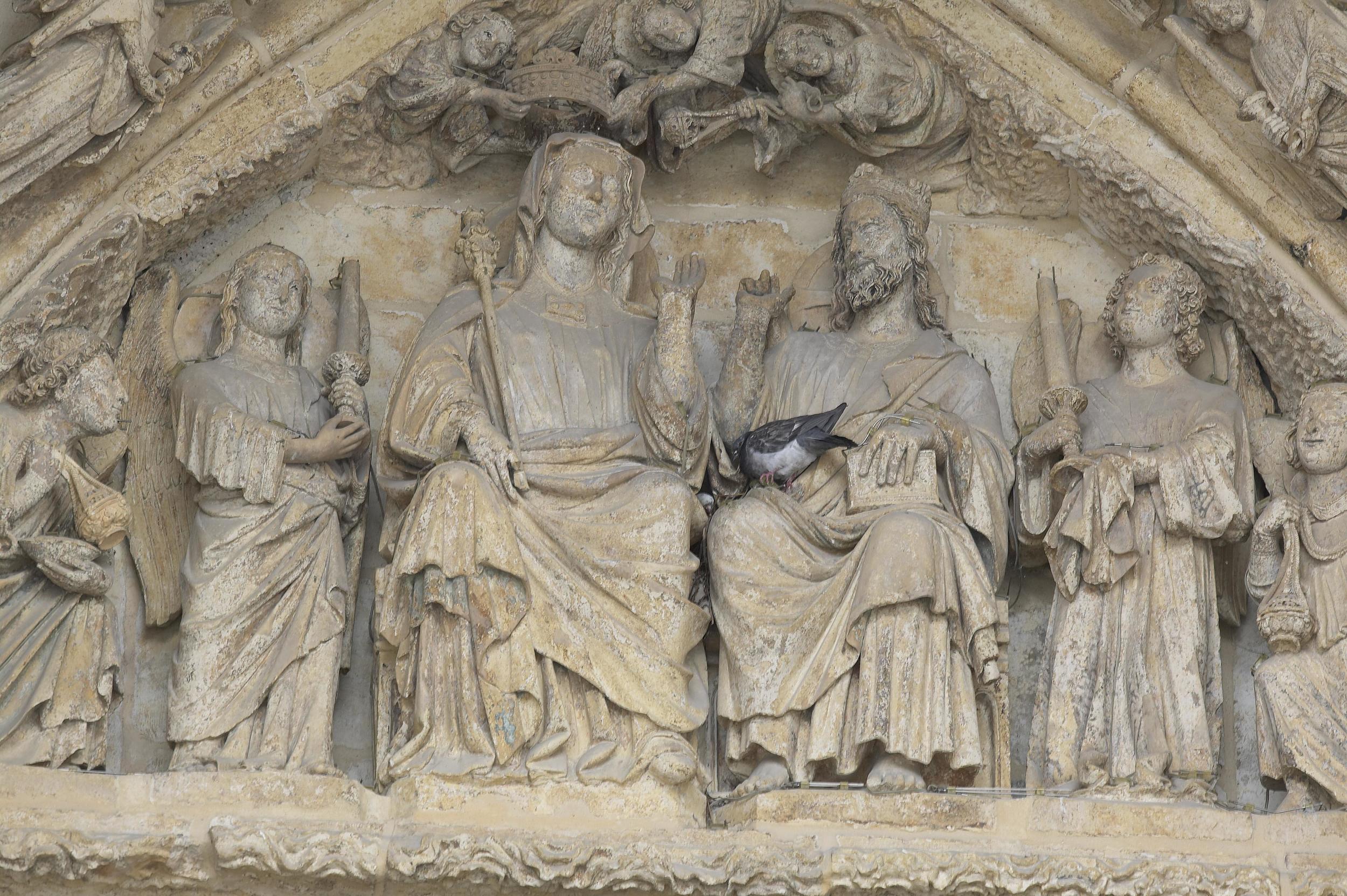 """The Coronation of the Virgin"""
