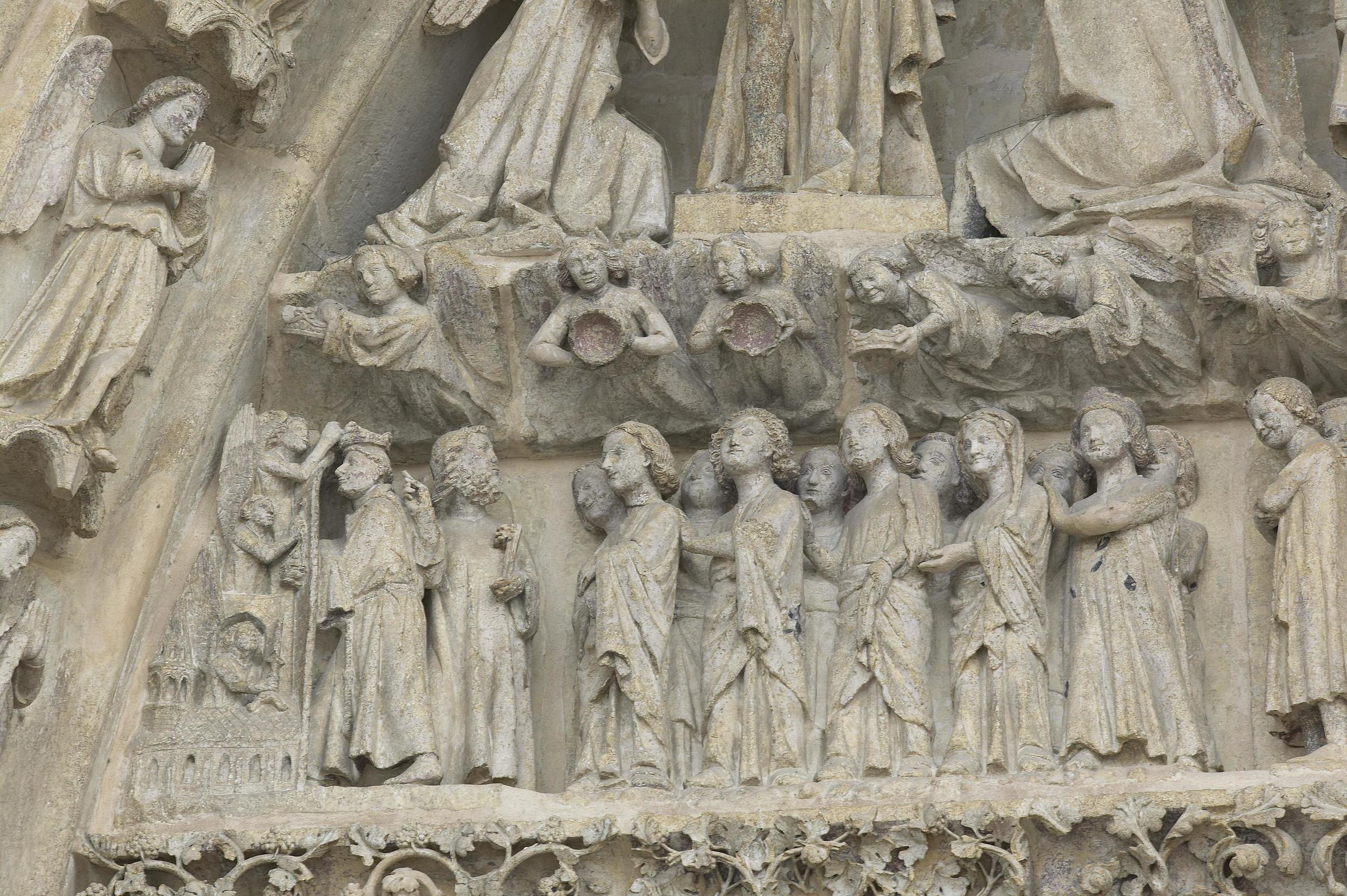 The Elect, from The Last Judgement Tympanum