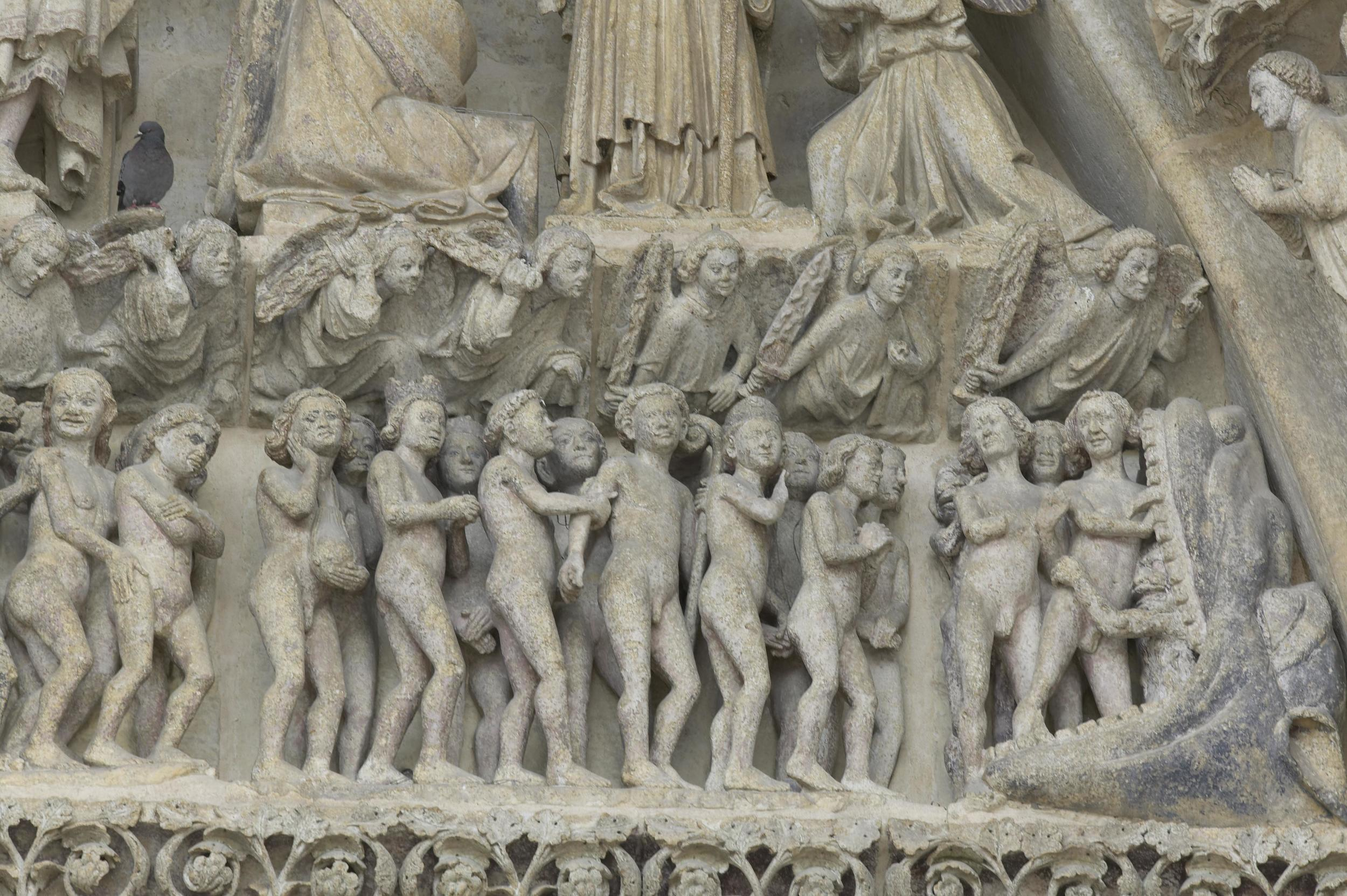 The Damned, from the Last Judgement tympanum