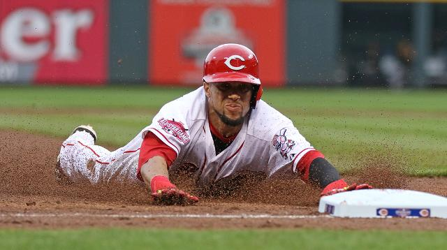 Billy Hamilton once stole third as the catcher lobbed the ball back to the pitcher. He is the only exciting thing about the Reds.    NBC Sports