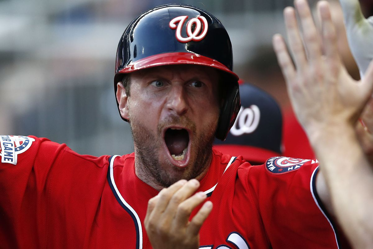 Max Scherzer remains a double-digit strikeout machine and fearsome hitter.