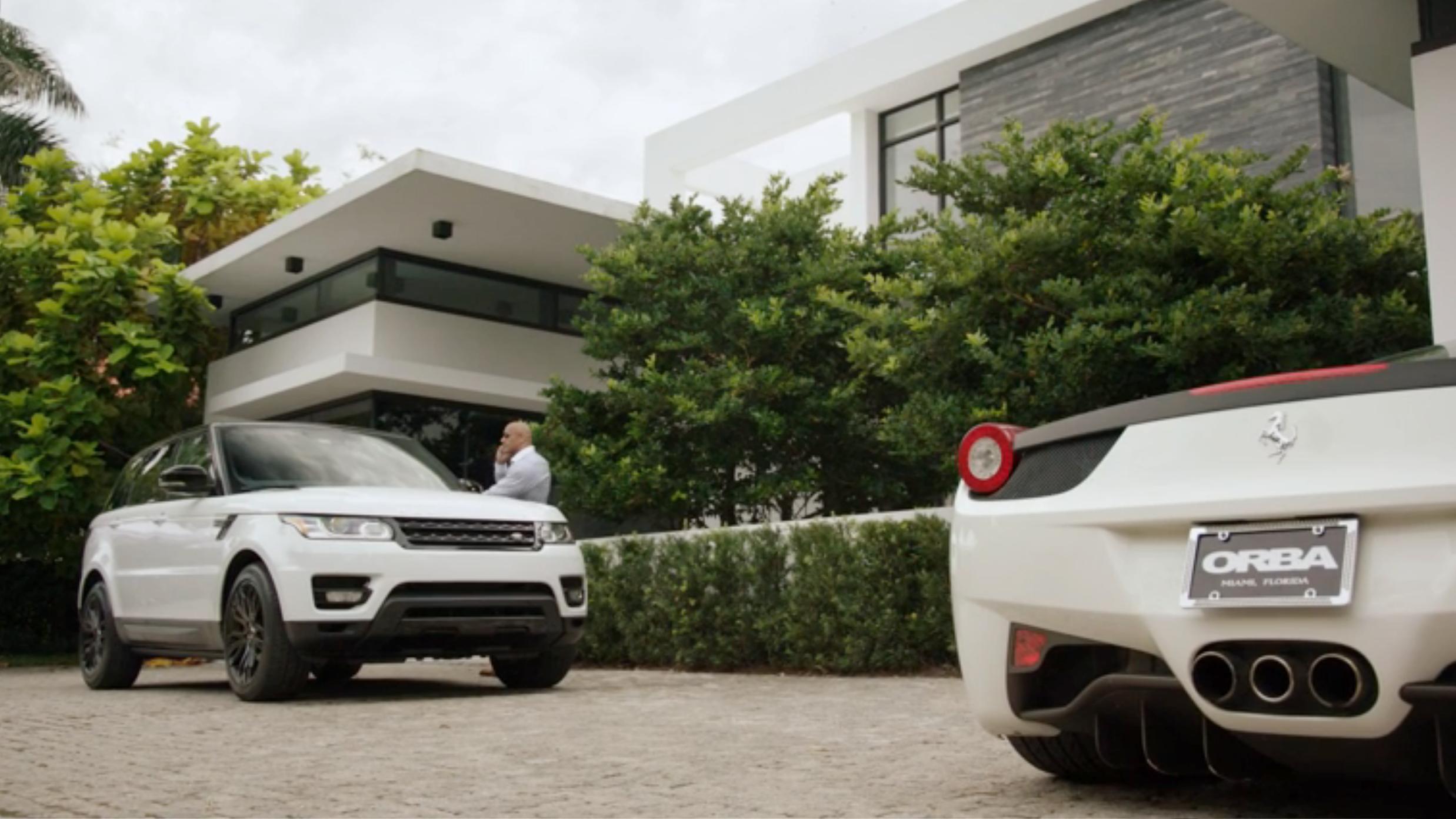 Haute living, luxury transportation.