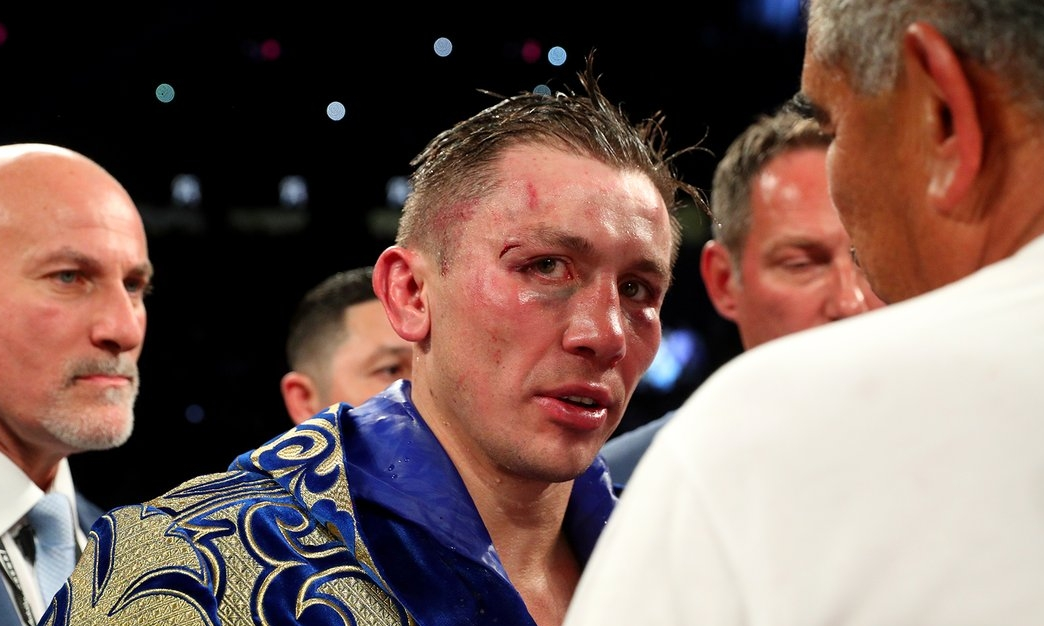 Golovkin not looking so boyish after another 12 rounds with Canelo. |  HBO Boxing