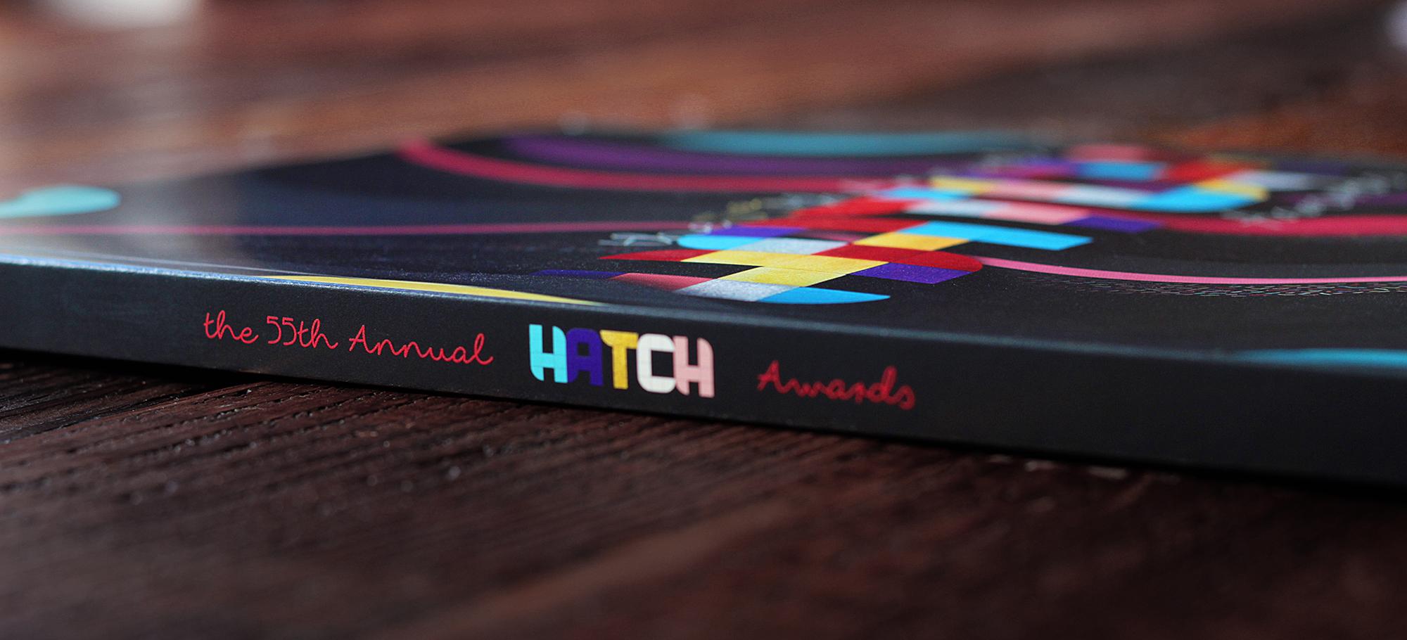 Spine of Award Show Catalog Book