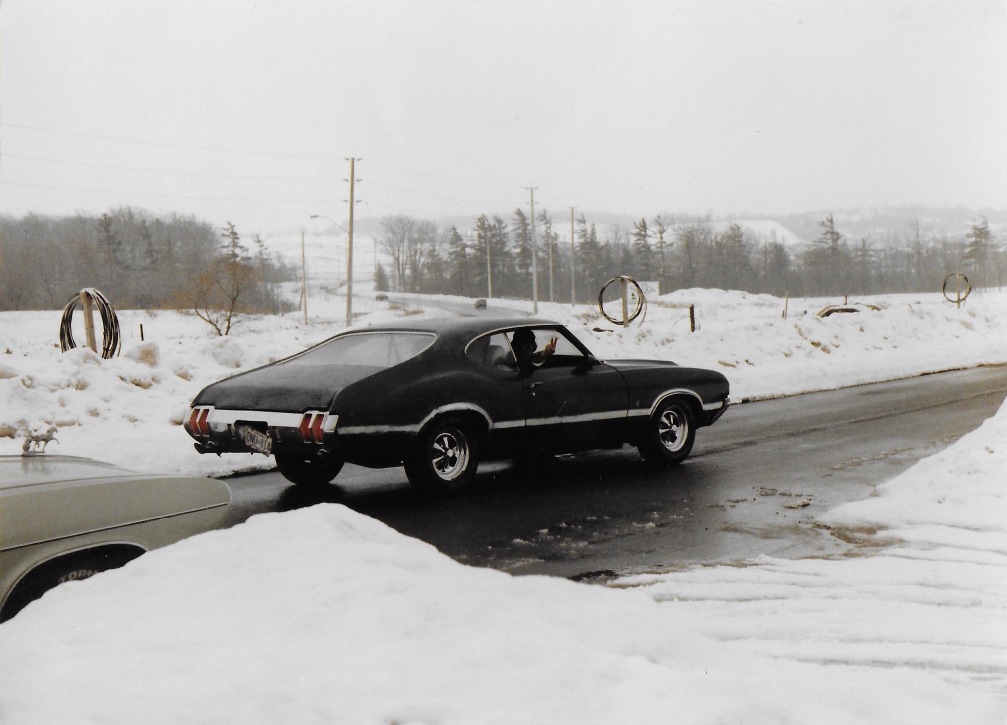 Figure 2  Pre-restoration photograph of the original Oldsmobile 442 W30.