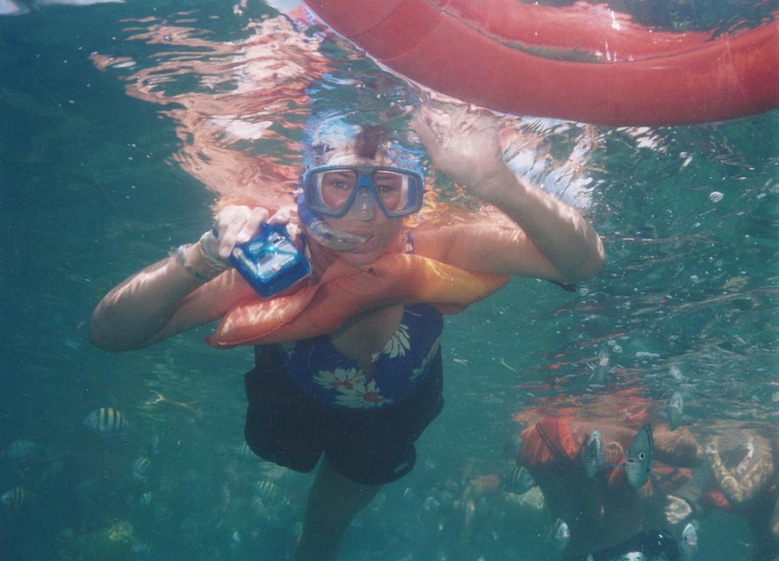 Snorkeling / Isla Mujeres, Mexico