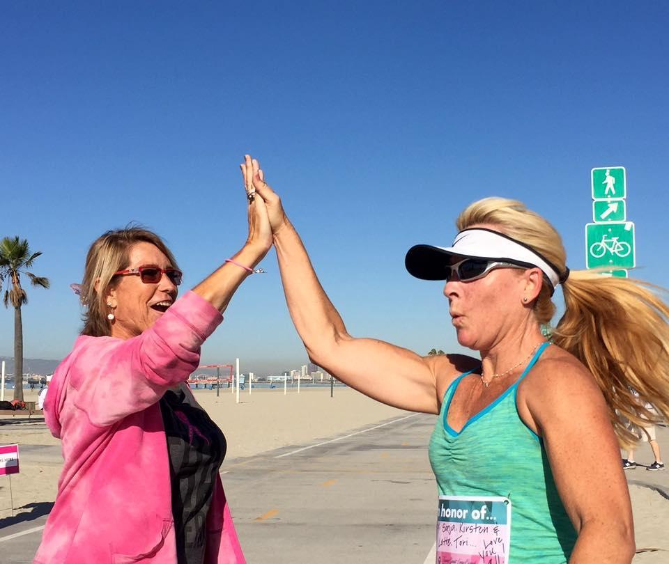 At Finish LIne, Team Spirit 5K, Long Beach