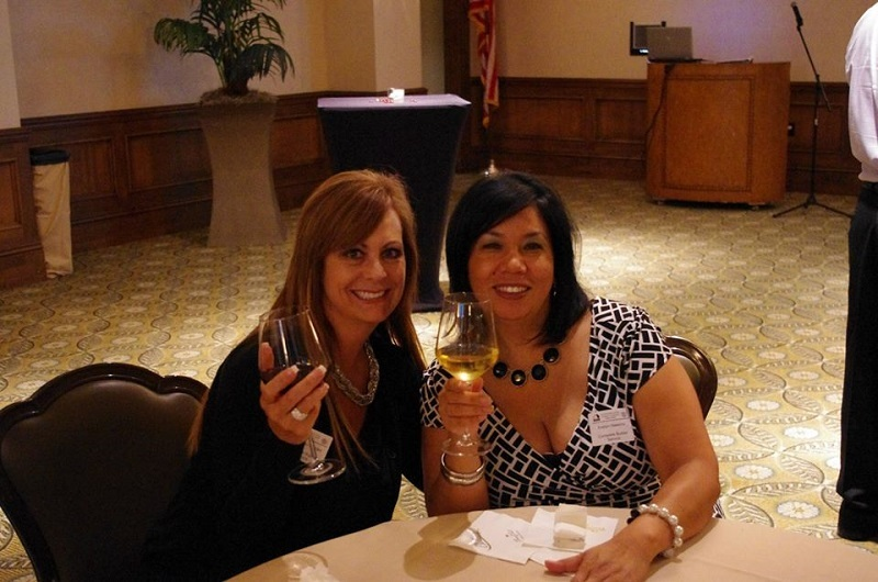 Lisa Riess-Mendez and Evelyn Hawkins from Complete Builder Service