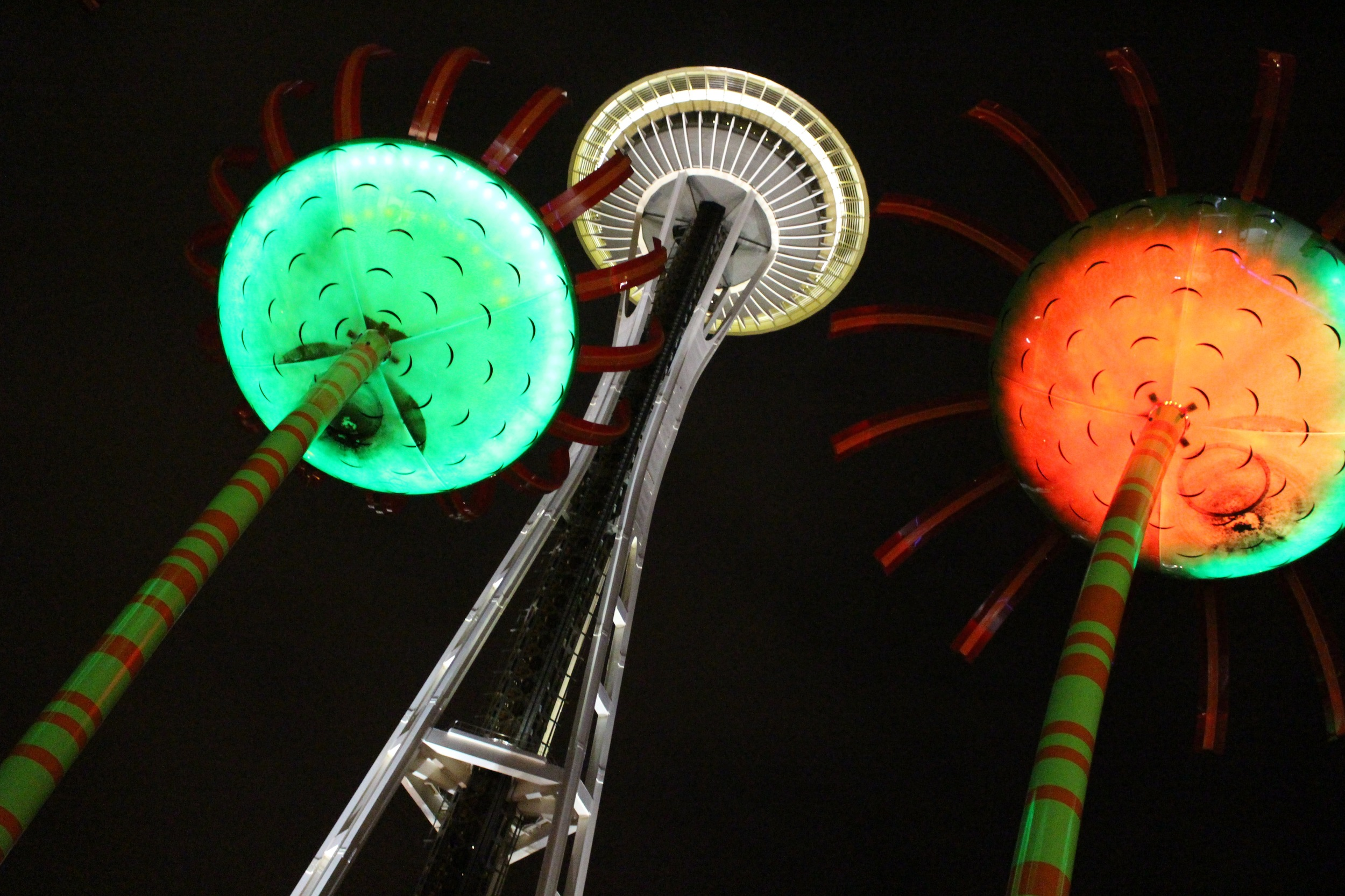 A Visit to the Space Needle. Photo by Leslie La Barre