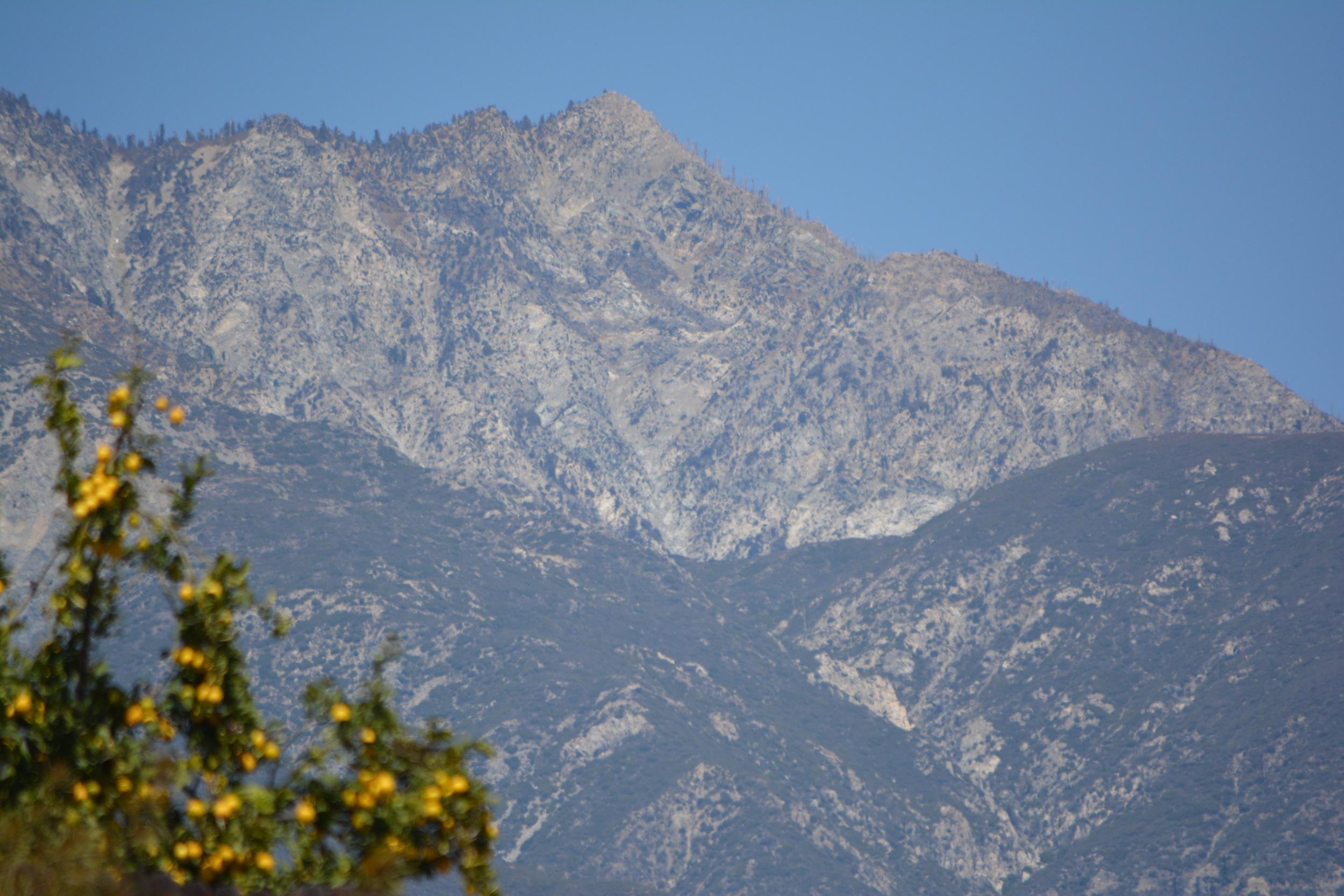 San Gabriel Mountains. Photo by EL