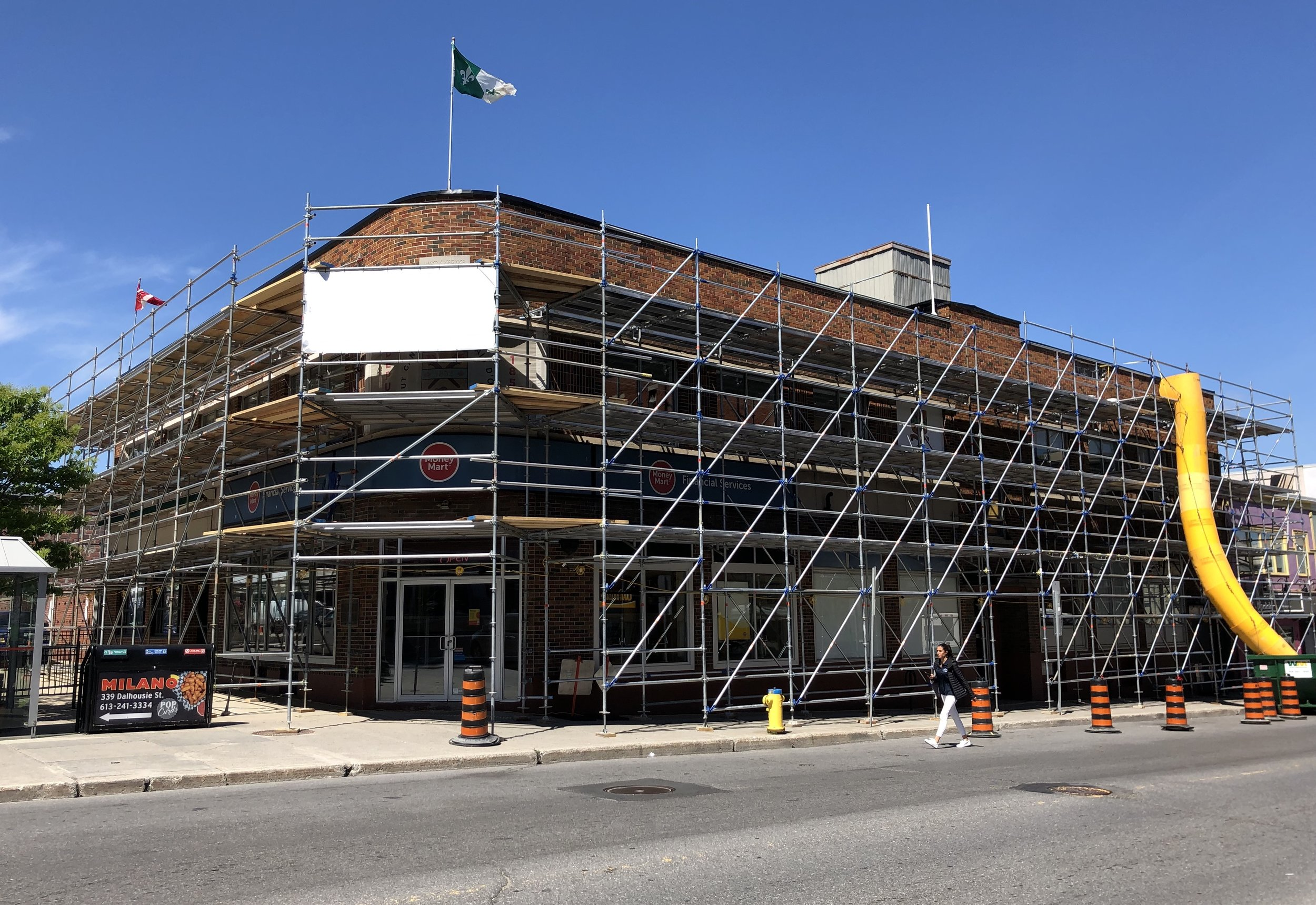 Dalhousie Street - Building Restoration in Progress