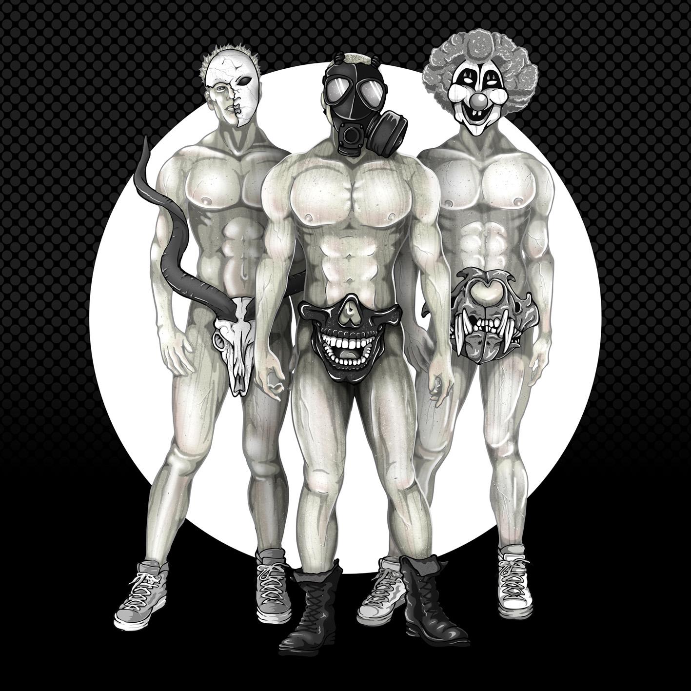 Original illustration. Inks in Illustrator. Paint in Photoshop.