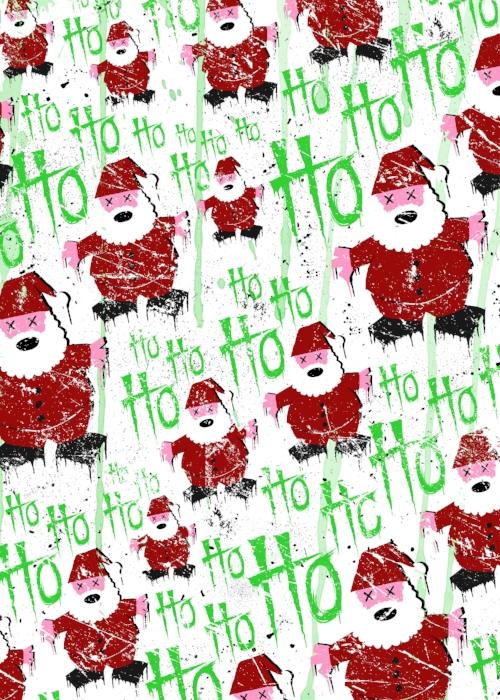 Santa Ho pattern.  Copyright GWA (aka Wade Goring).