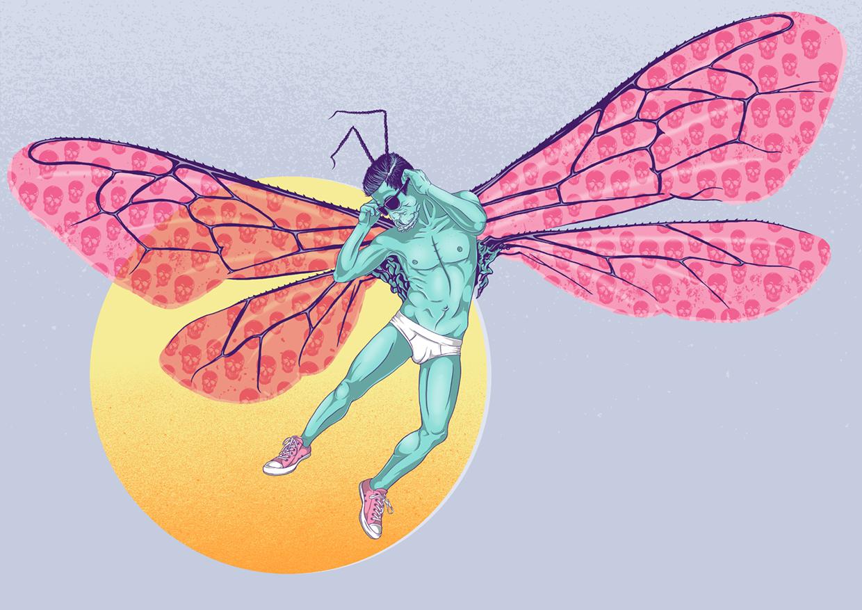 Digital Art. Queer Art. LGBT Art. By artist GWA aka Wade Goring.