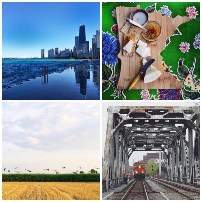 This week's  Instacrushes !Clockwise from top left: @ goddamnjessika , @ thatfoodgirl , @ midwestscandinavian , @ vanessagrausam