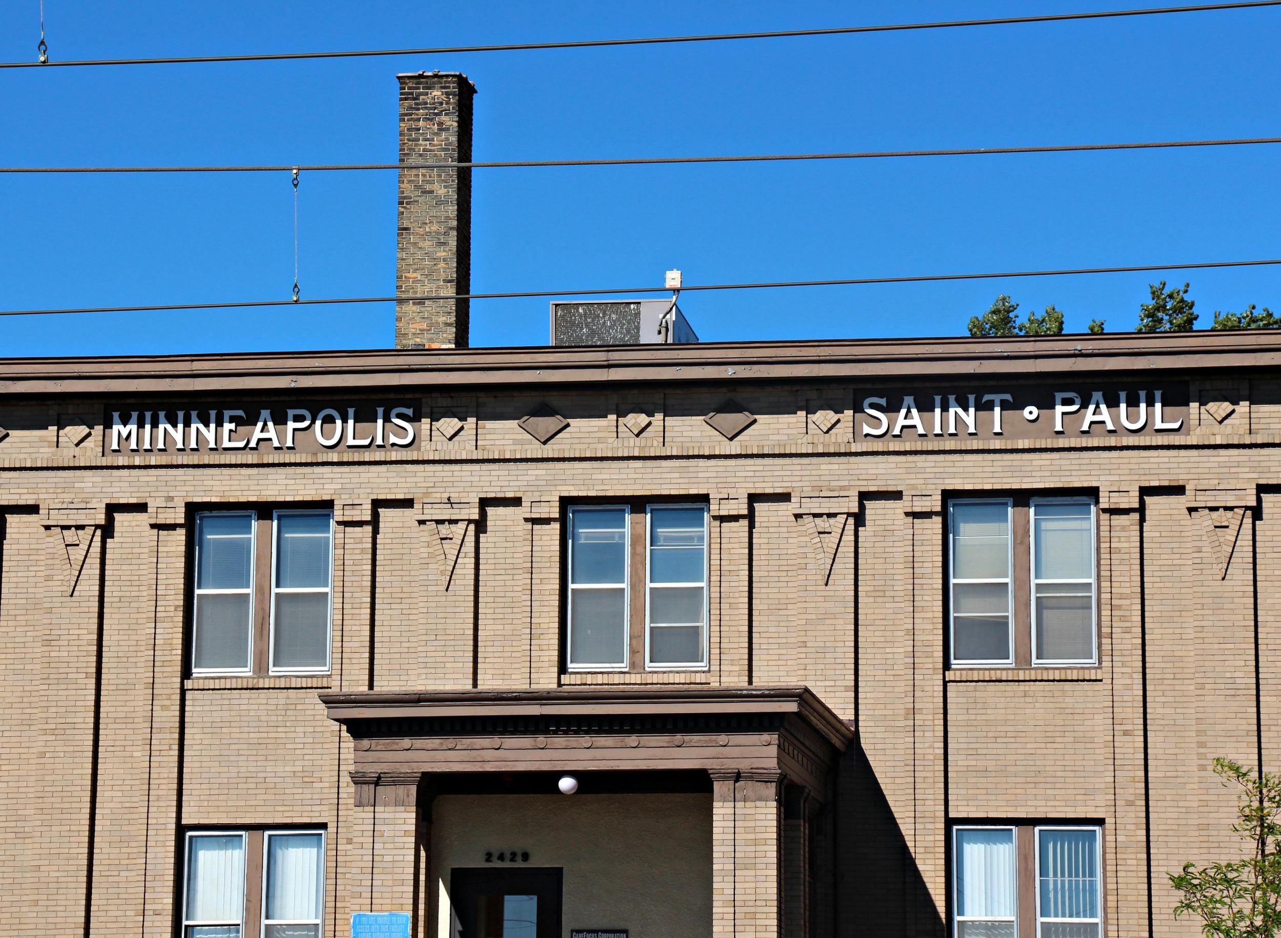 The Minneapolis-Saint Paul Building, Built in 1909