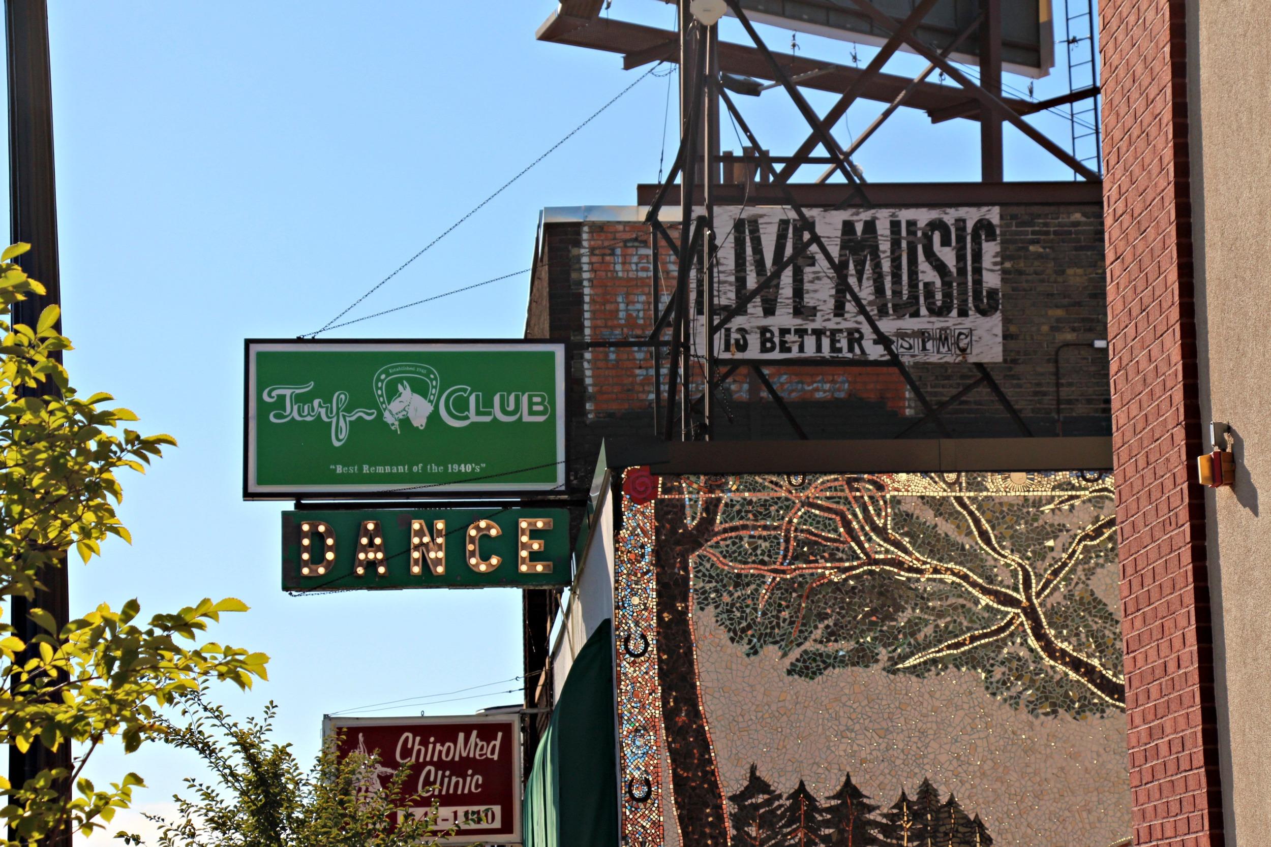 Turf Club in St. Paul