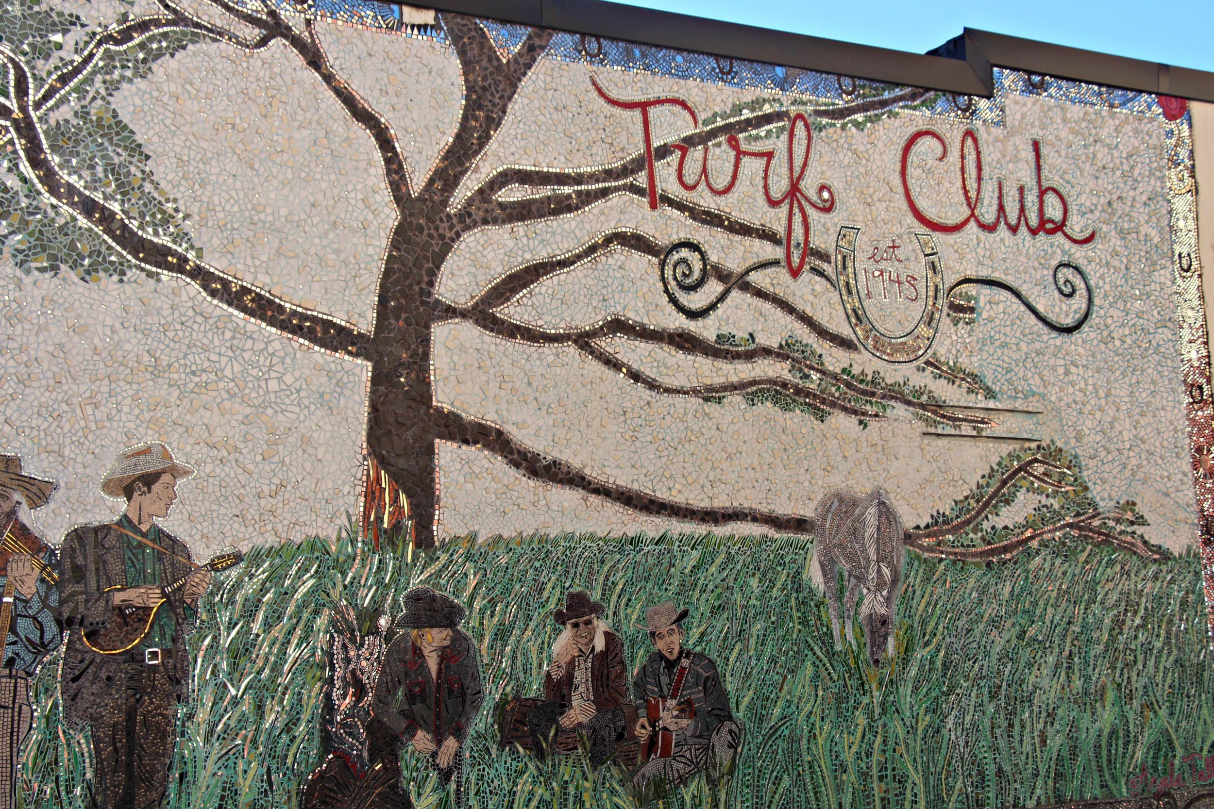 Turf Club Mosaic in St. Paul