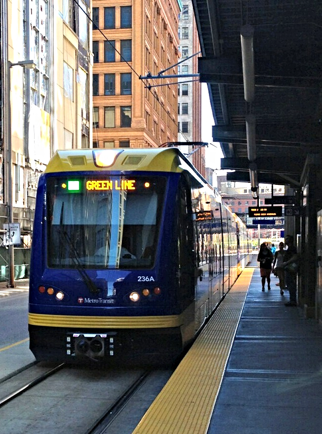 St. Paul Light Rail - Green Line Tour