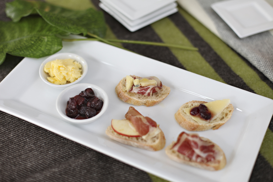 That sweet and savory cranberry chutney ishouse-made at  France 44 . They use it on their T-Chut sandwich at the deli, and it became so popular that they decided to sell it solo. It was brilliant with the cured pork and cheeses.