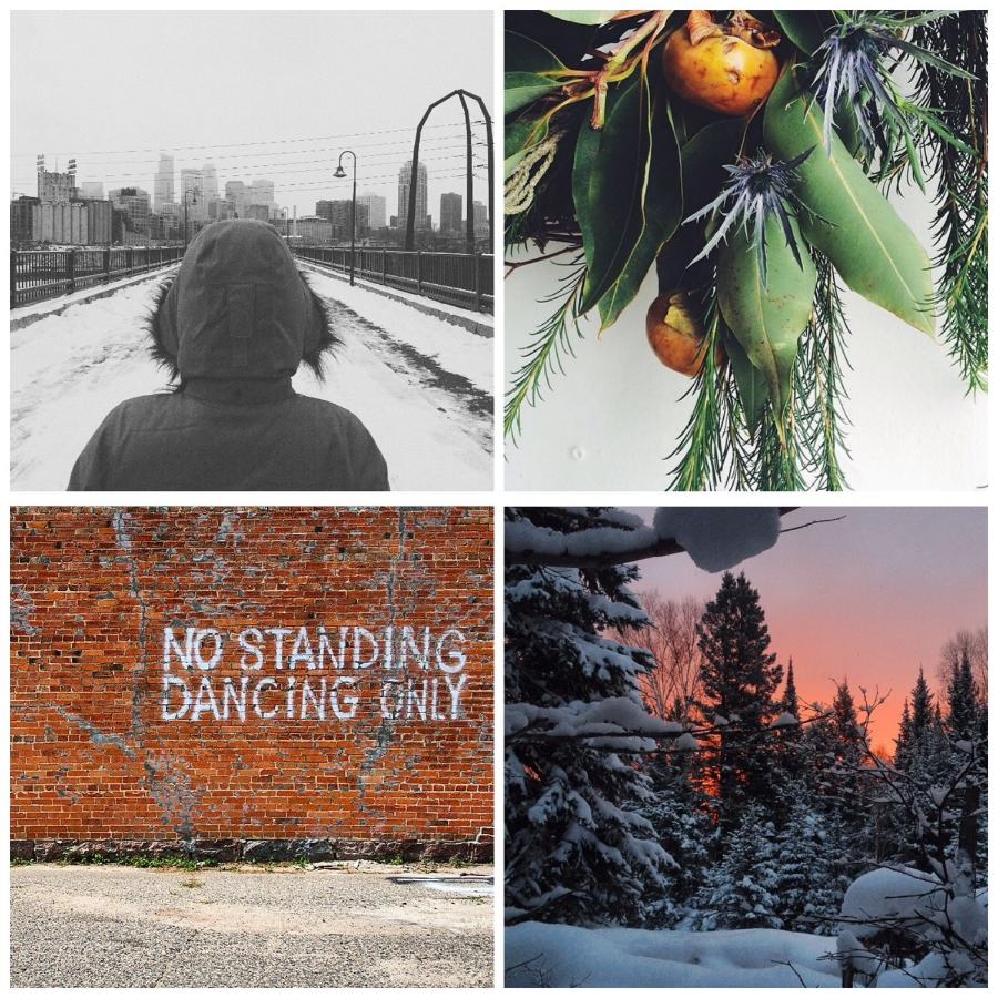 This week's Instacrushes! Clockwise from top left: @ absolut_lee , @ madefloral , @ traprockvalley , @ mackenziekdavis
