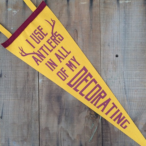 Oxford Pennant - The Midwestival Gift Guide 2014