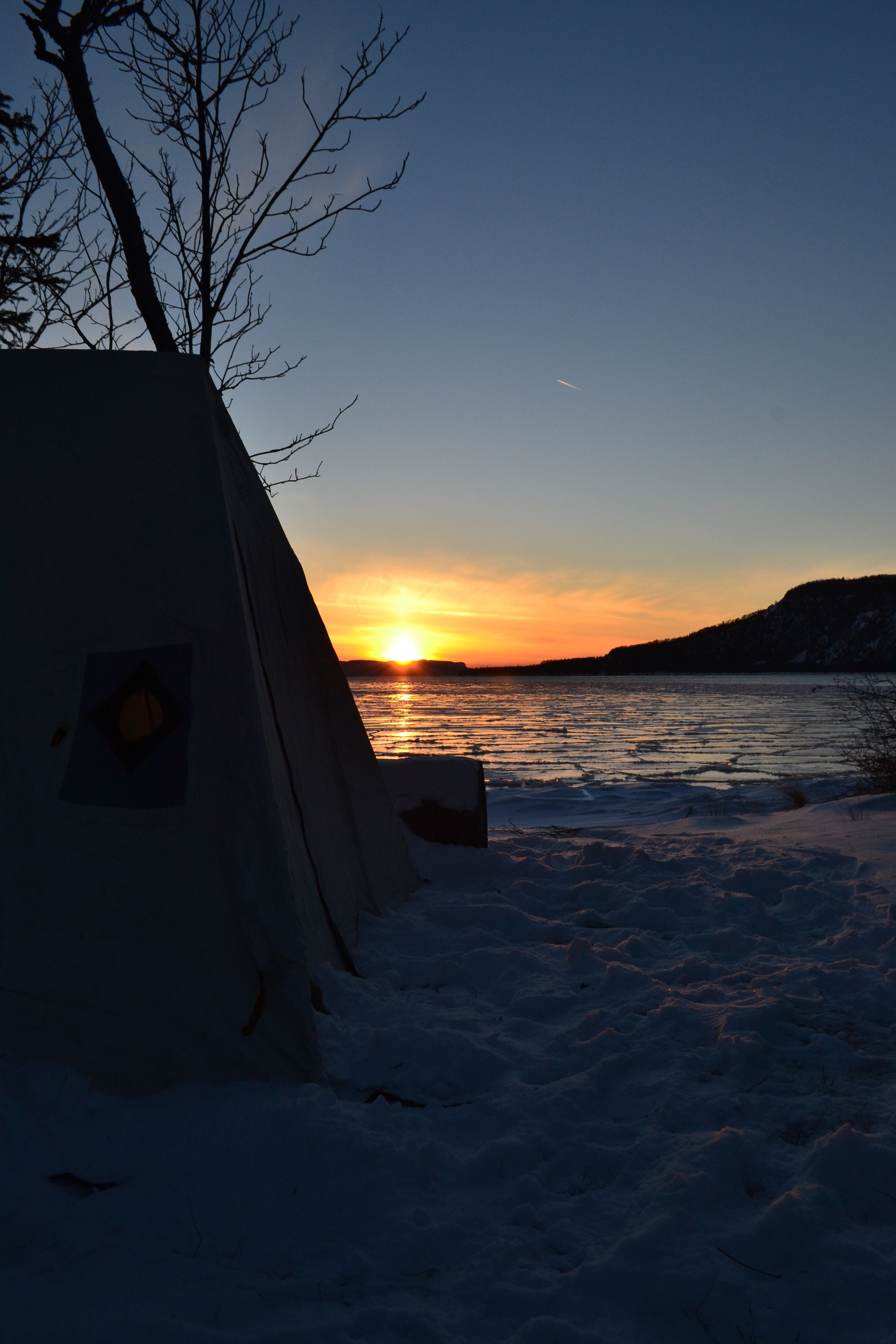 Hot Tenting in Northern Minnesota