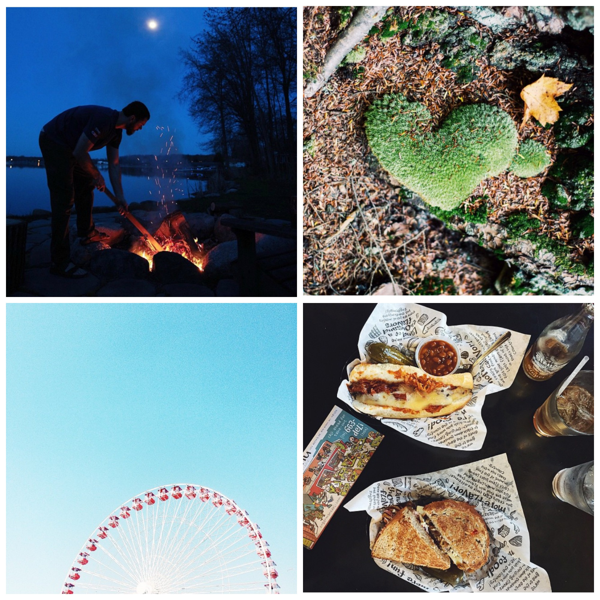 This week's Instacrushes!Clockwise from top left: @ catbwell , @ meniquekoos , @ mightyinthemitten , @ erikadenhoed