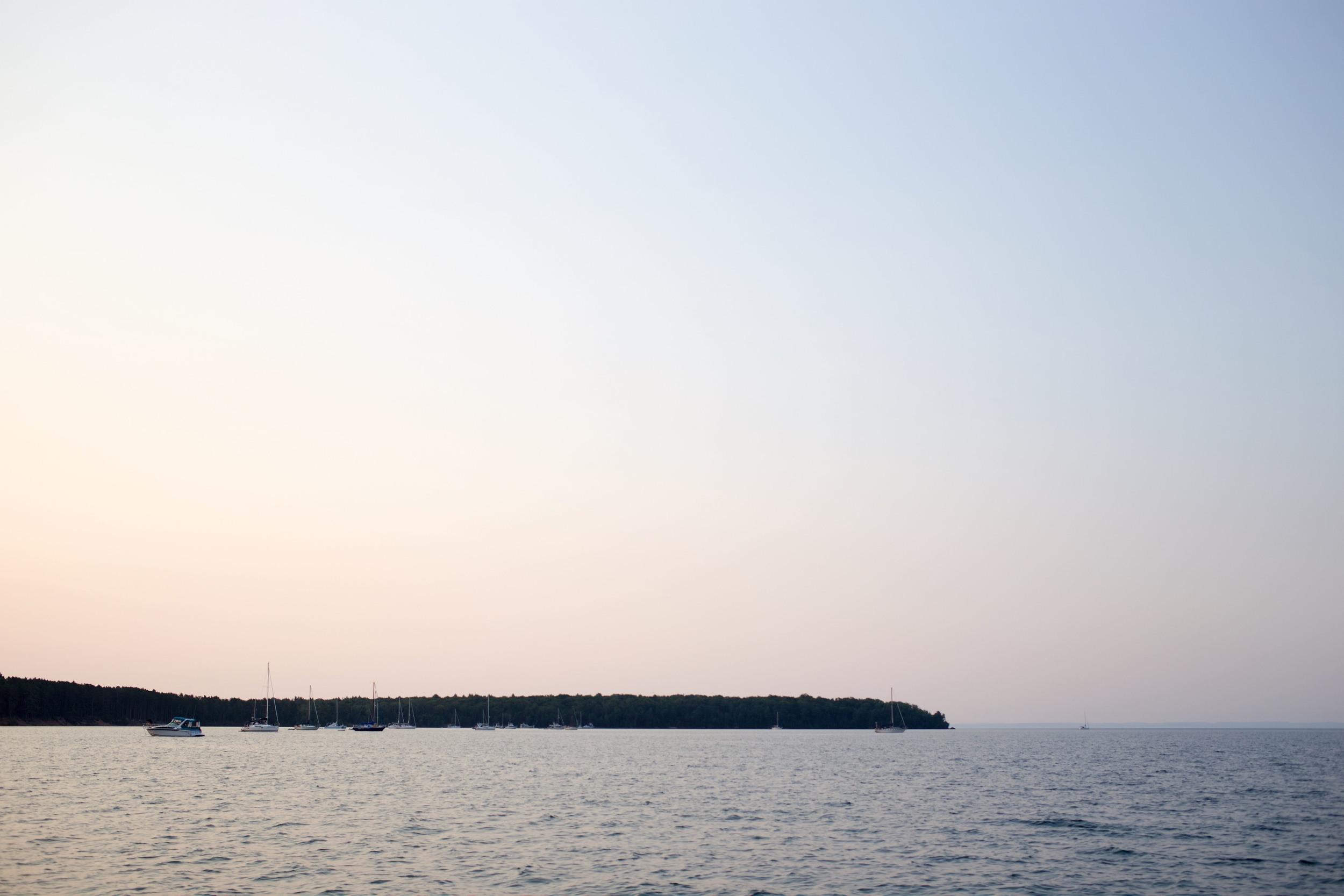 Sailing at Stockton Island - Lake Superior