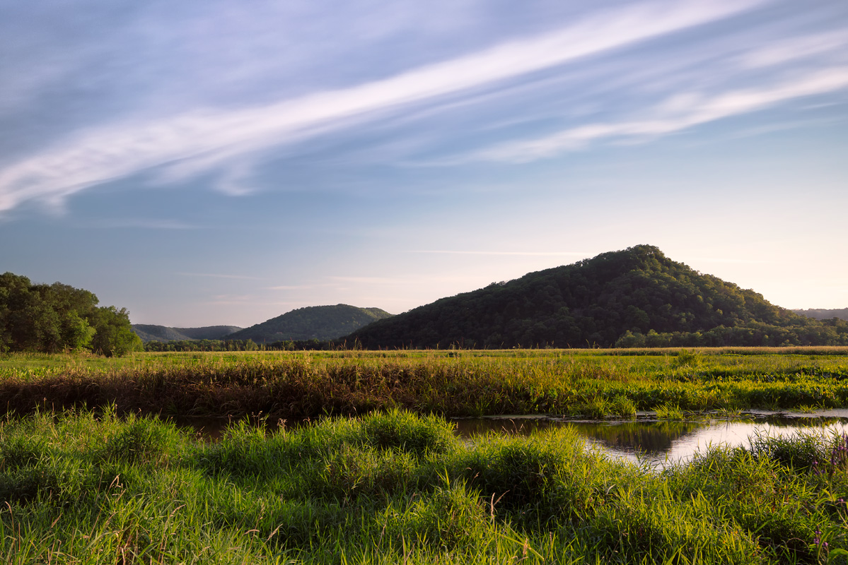 Trempealeau Mountain; photo by  Ryan Mense