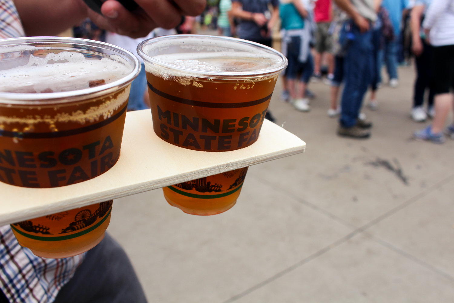 Summit Beer on a Stick at the Minnesota State Fair 2016 via The Midwestival