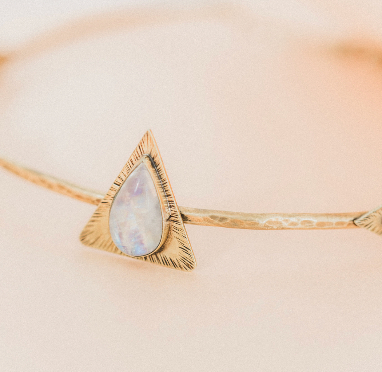 Brass and moonstone crown   Paige Molina photography