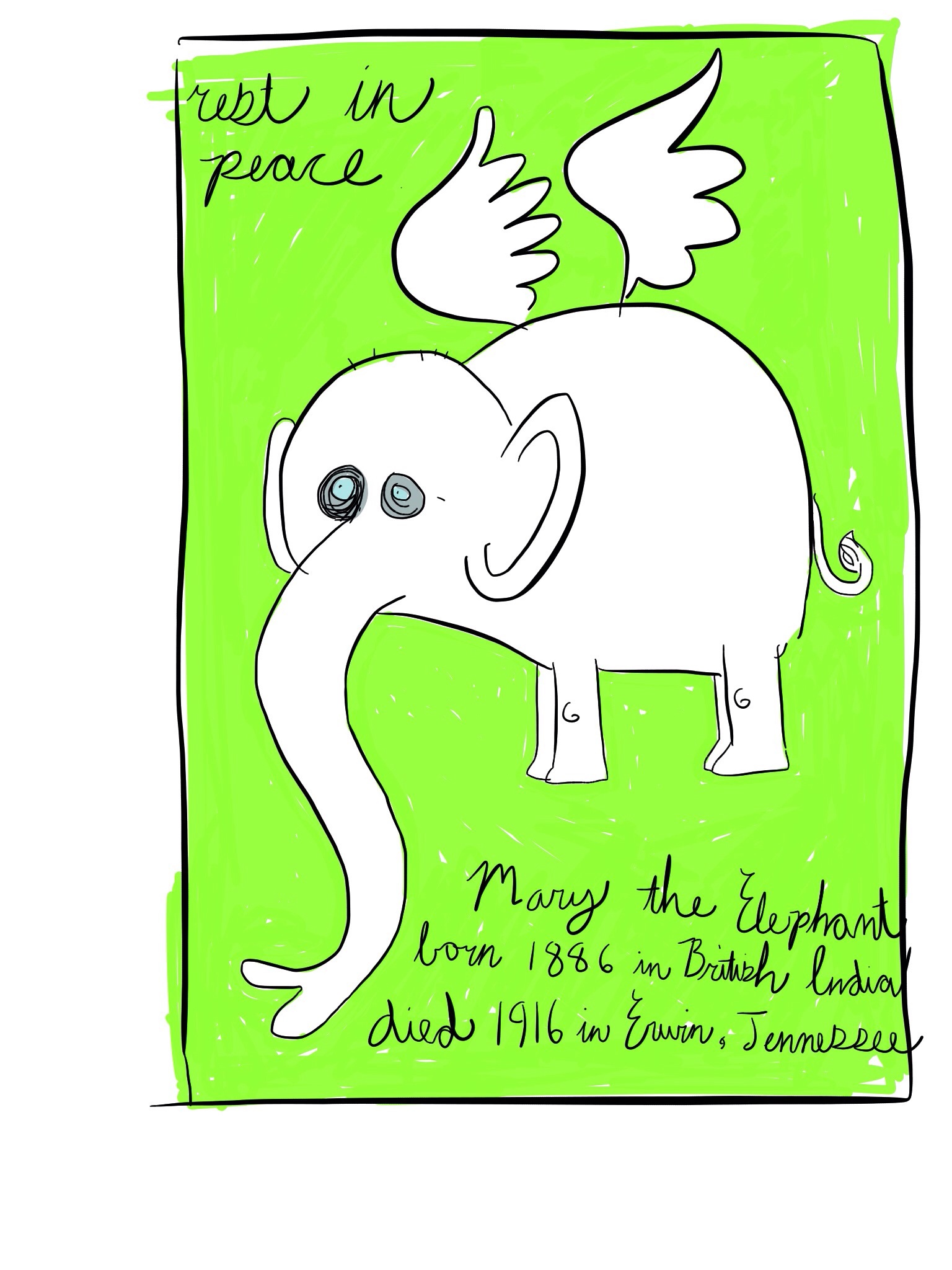 Mary the Elephant