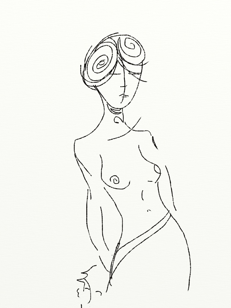 Minoan nude