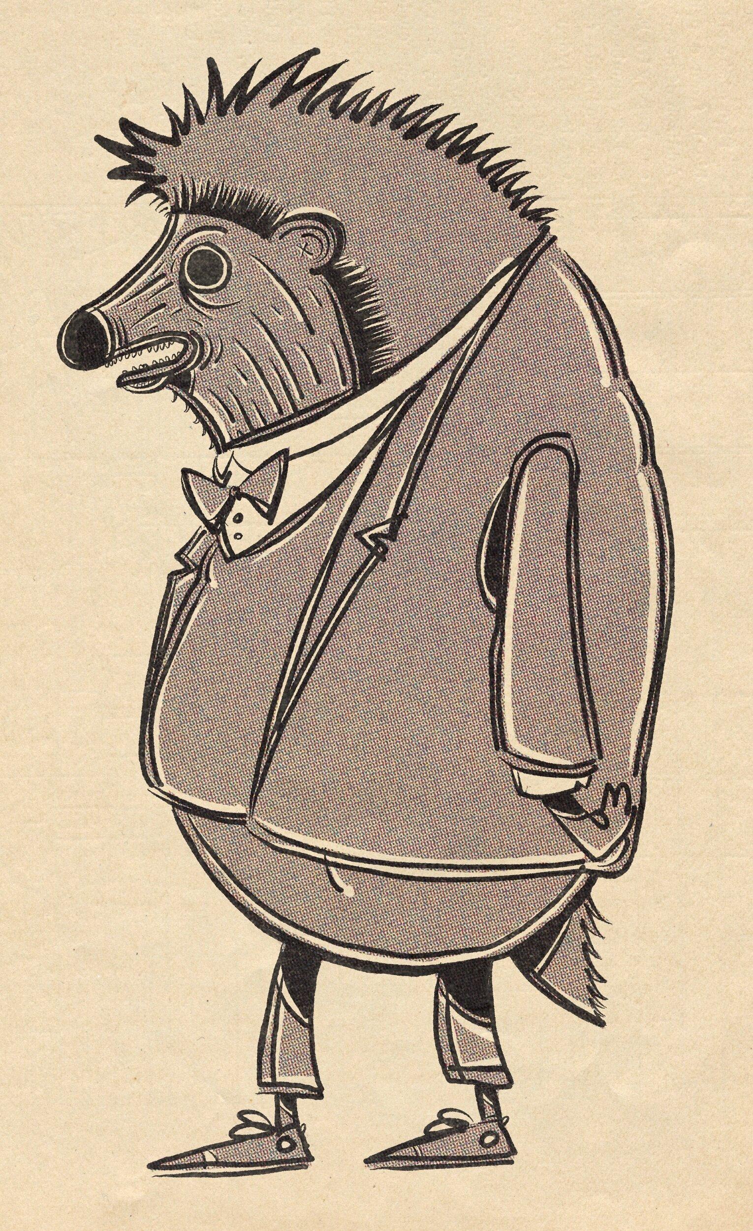 Professor Burke, Gentleman Hedgehog