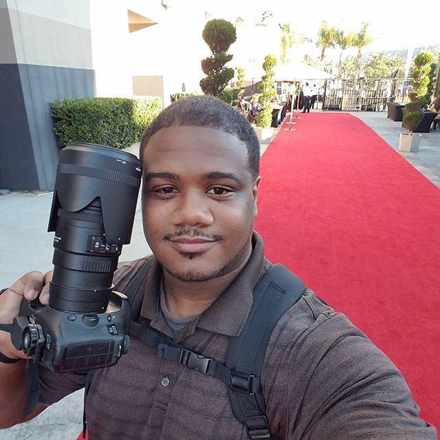 At KIPP star awards 2016 doing my photography thing #kippstar2016