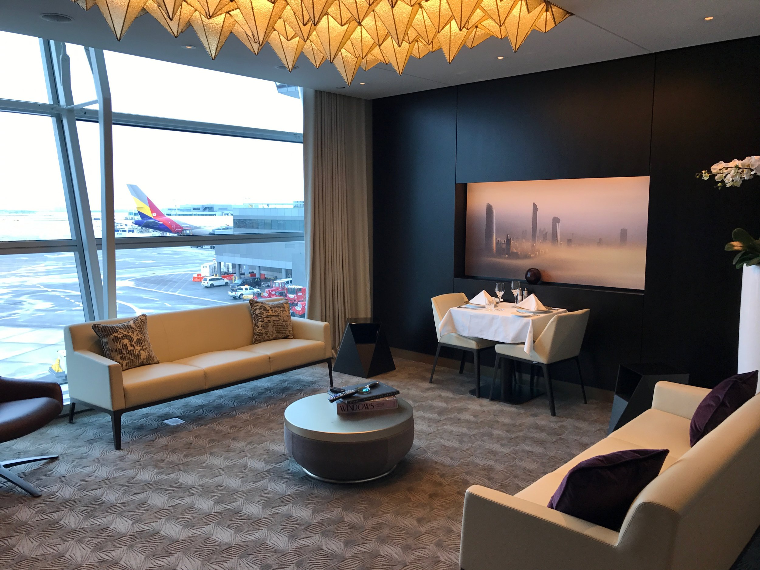 Private Lounge at JFK