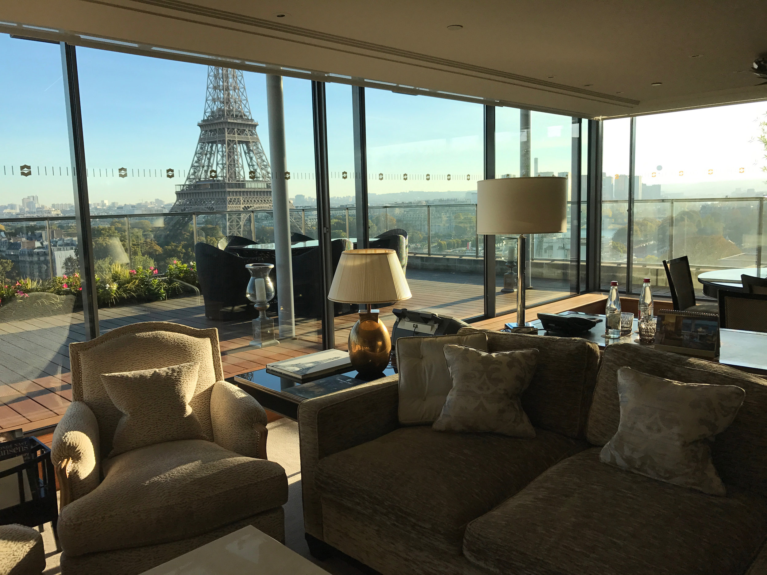 View from a Shangri-La suite