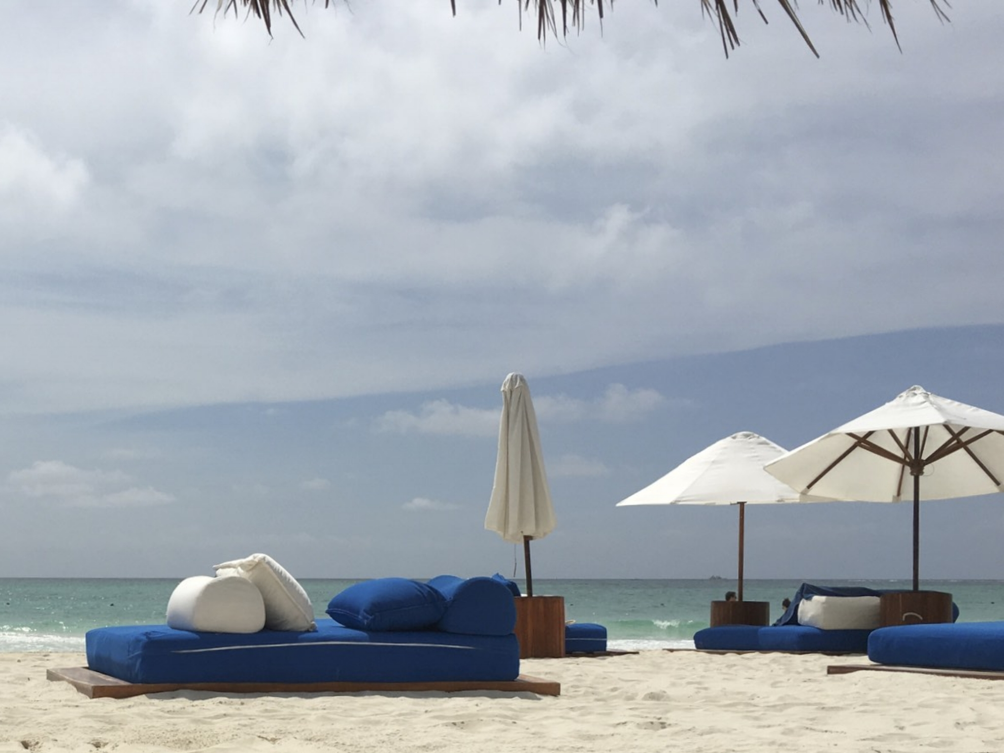 Relax at Belmond's perfect beach