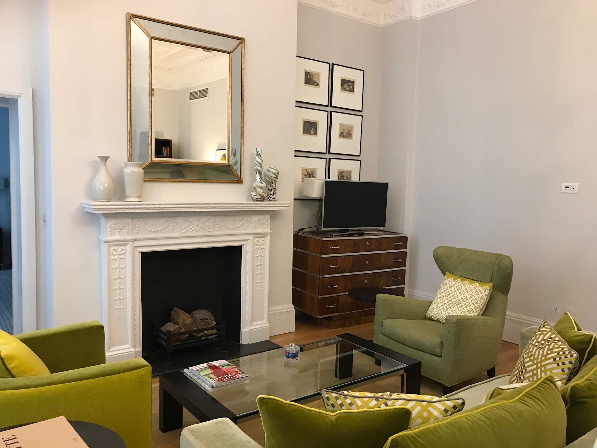 Suite at the Brown's Hotel, London
