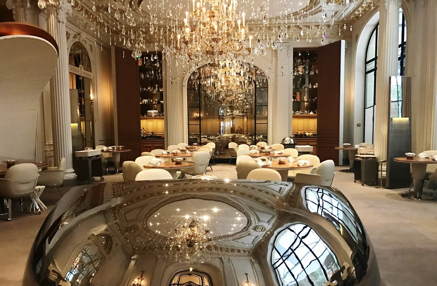 Dine in luxury at a Dorchester Collection Hotel