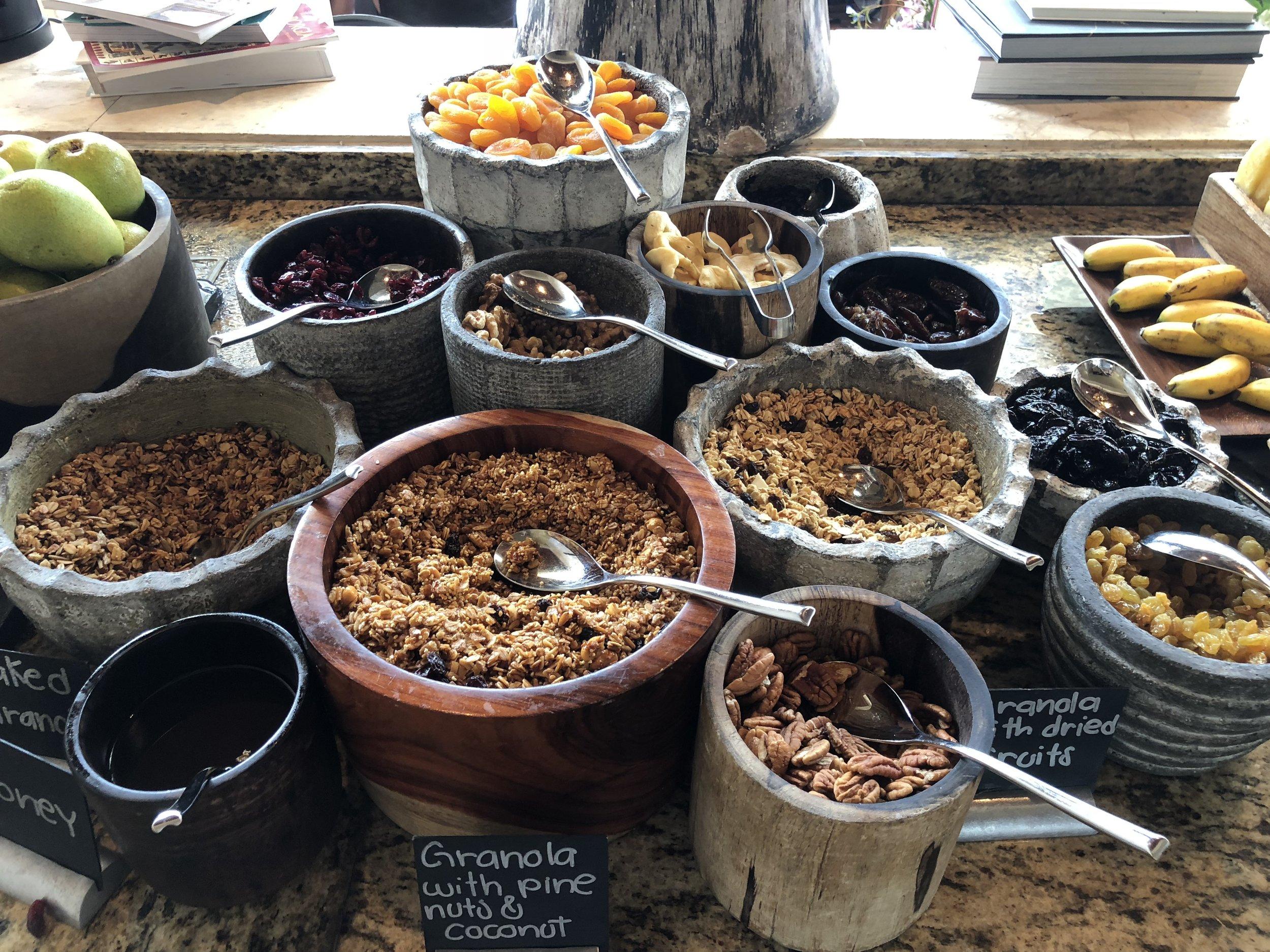 Rosewood Mayakoba breakfast
