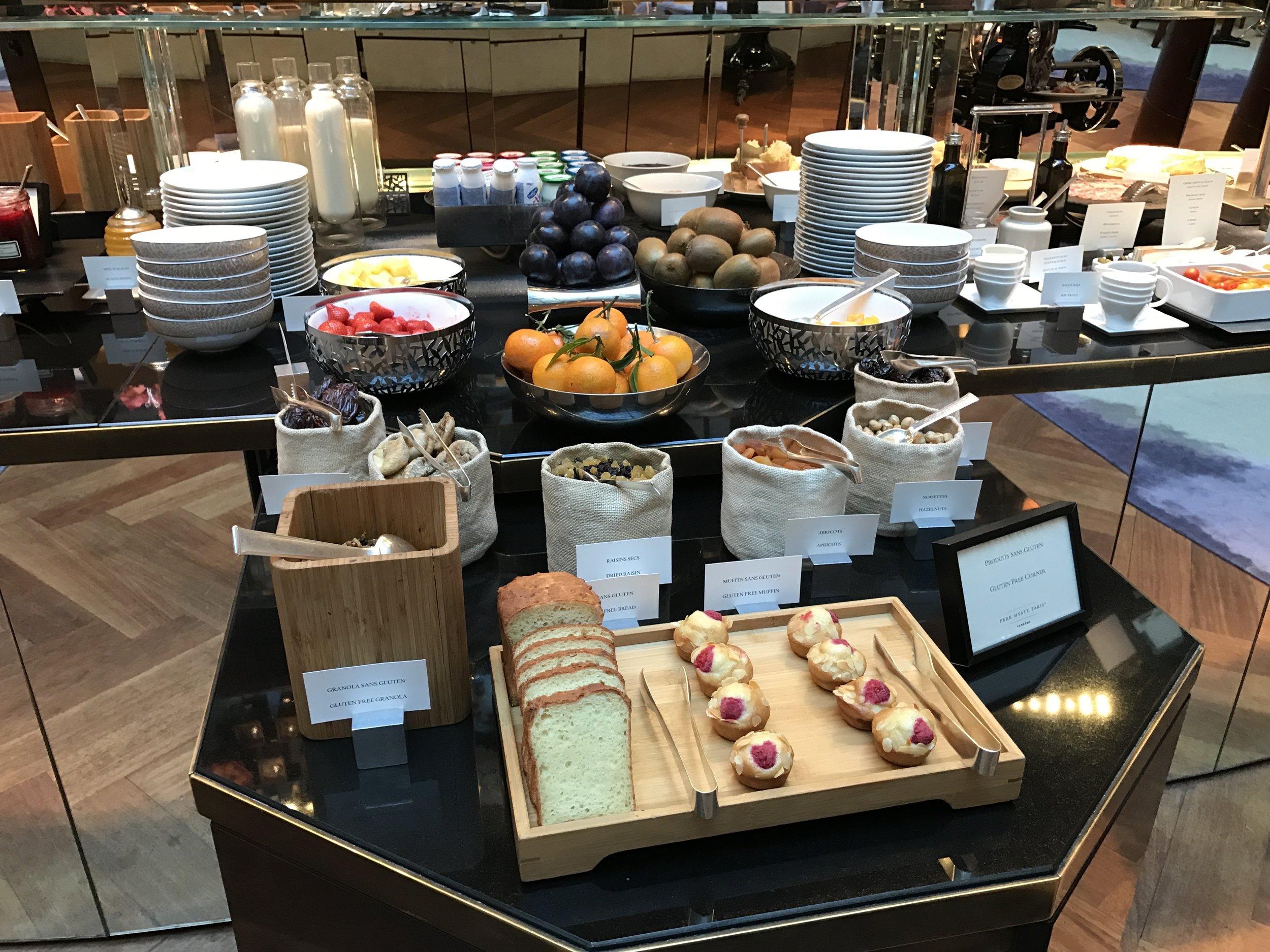 Enjoy Hyatt Privé breakfast for free