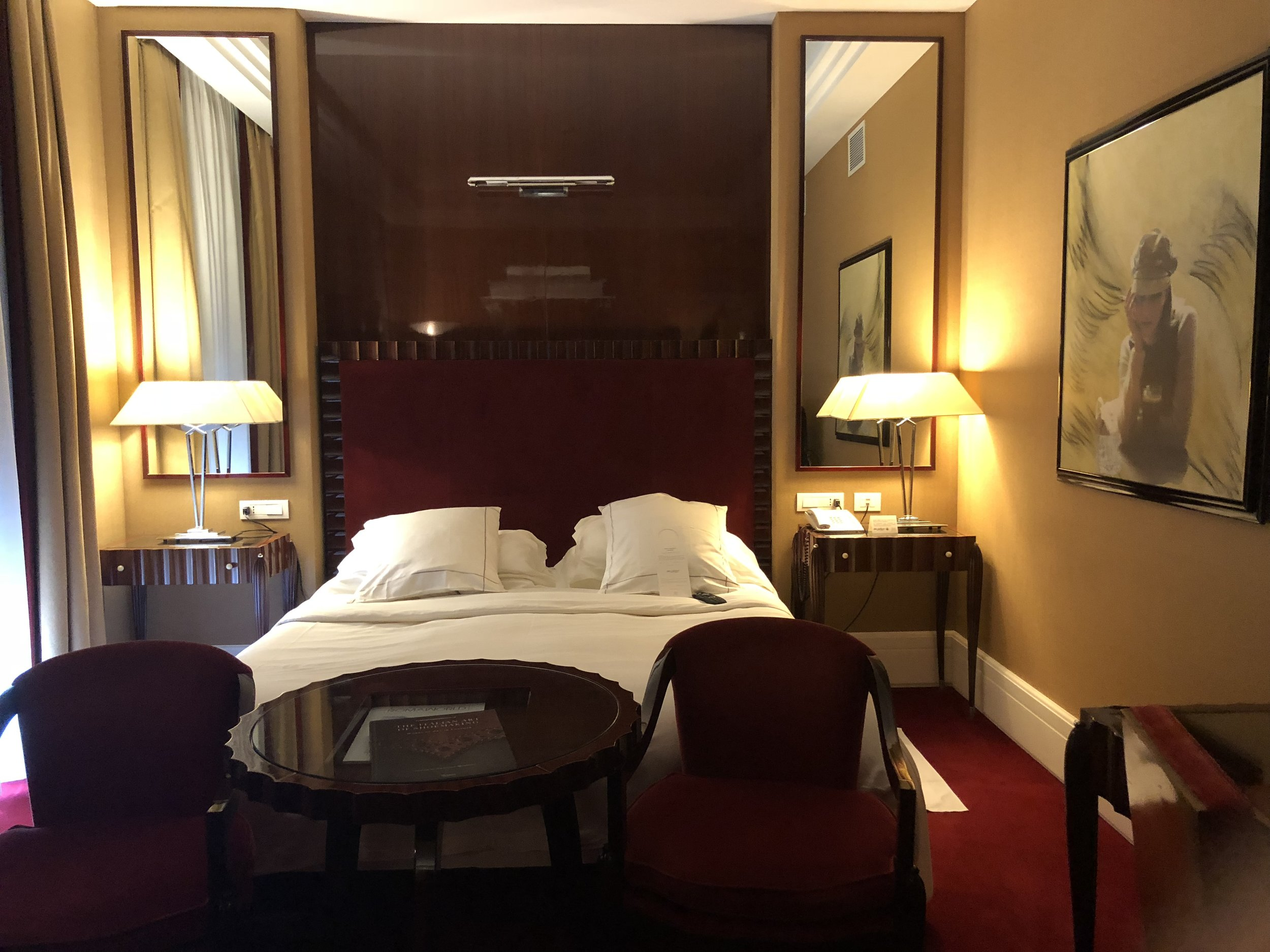 Spacious rooms and fine appointments