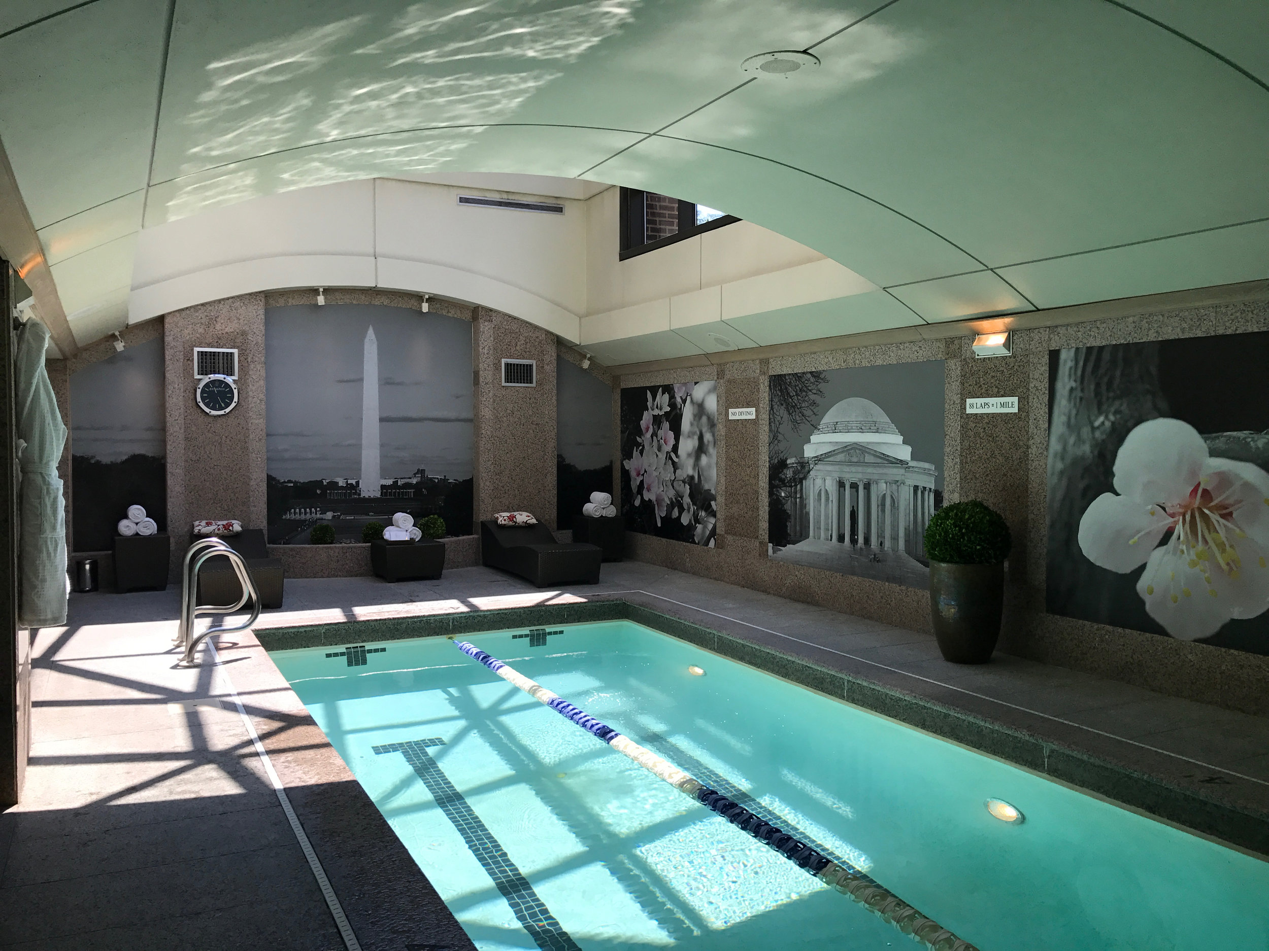 Relax and unwind at the pool